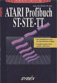 Das Cover des ATARI Profibuchs